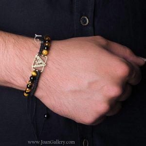 دستبند عهد جان با مهره