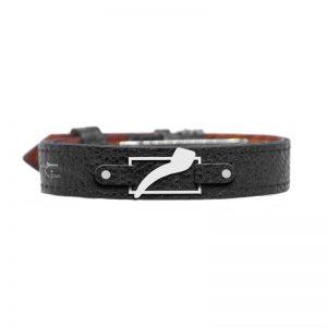 دستبند سفارشی با چرم سنگی