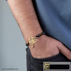 دستبند آروم جونم با مهره