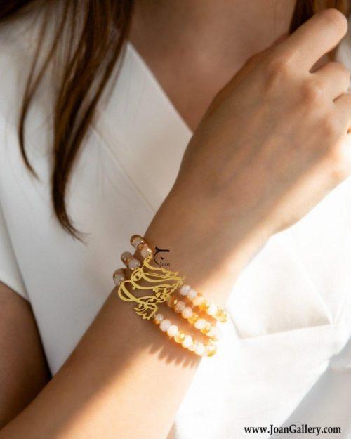 دستبند بی دوست زندگانی ذوقی چنان ندارد با مهره